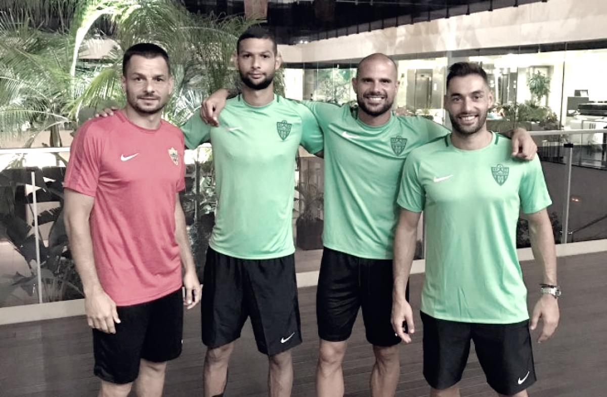 Elegidos los nuevos capitanes de la UD Almería