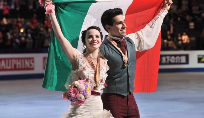 Campionati Europei, pattinaggio di figura: la danza di Cappellini-Lanotte è d'argento, vincono Papadakis-Cizeron