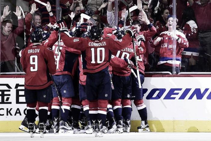 Washington Capitals battle back to edge Toronto Maple Leafs in overtime