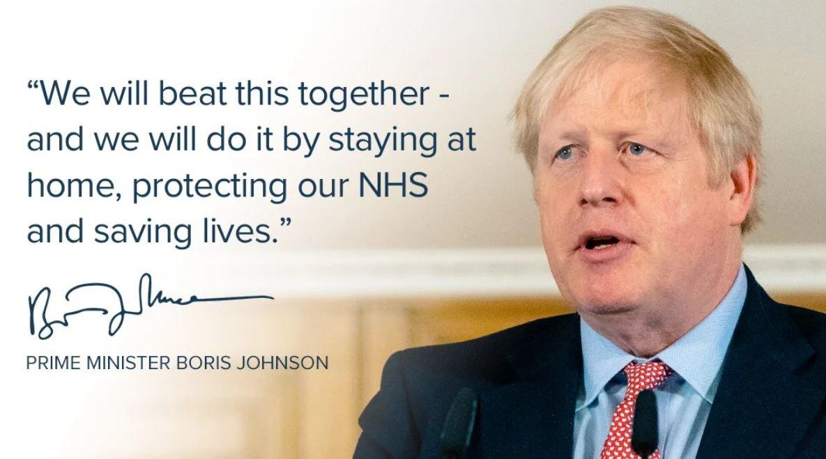 Boris Johnson sale de la UCI aunque continúa ingresado en el hospital de St. Thomas de Londres