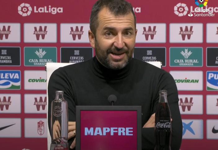 """Diego Martínez: """"Está siendo difícil configurar el equipo"""""""