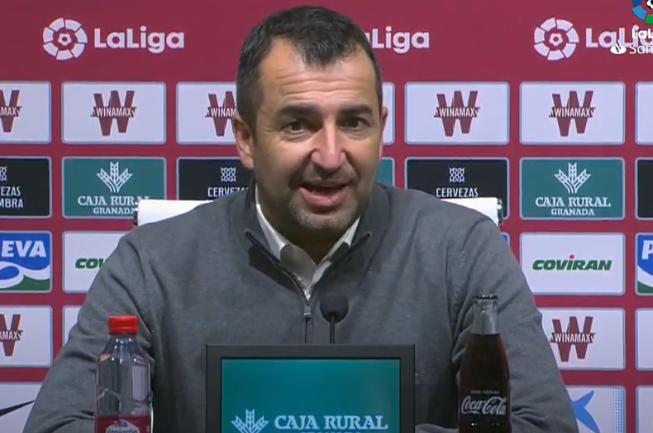 """Diego Martínez: """"Me ha gustado el partido de mi equipo"""""""