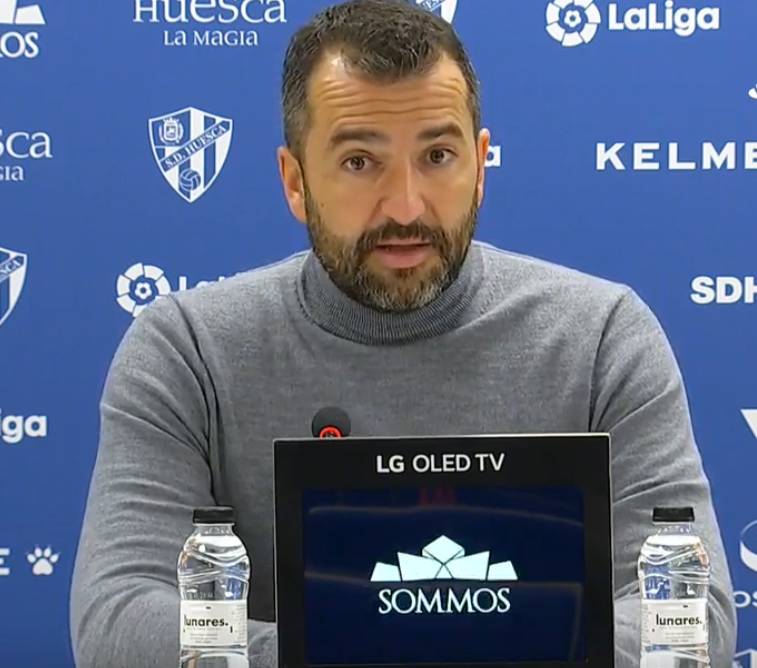 """Diego Martínez: """"Concedimos cosas que en Primera no se puede"""""""