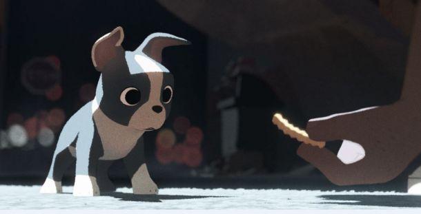 Primer vistazo al perrito Winston en 'Buenas migas', el nuevo corto de Disney