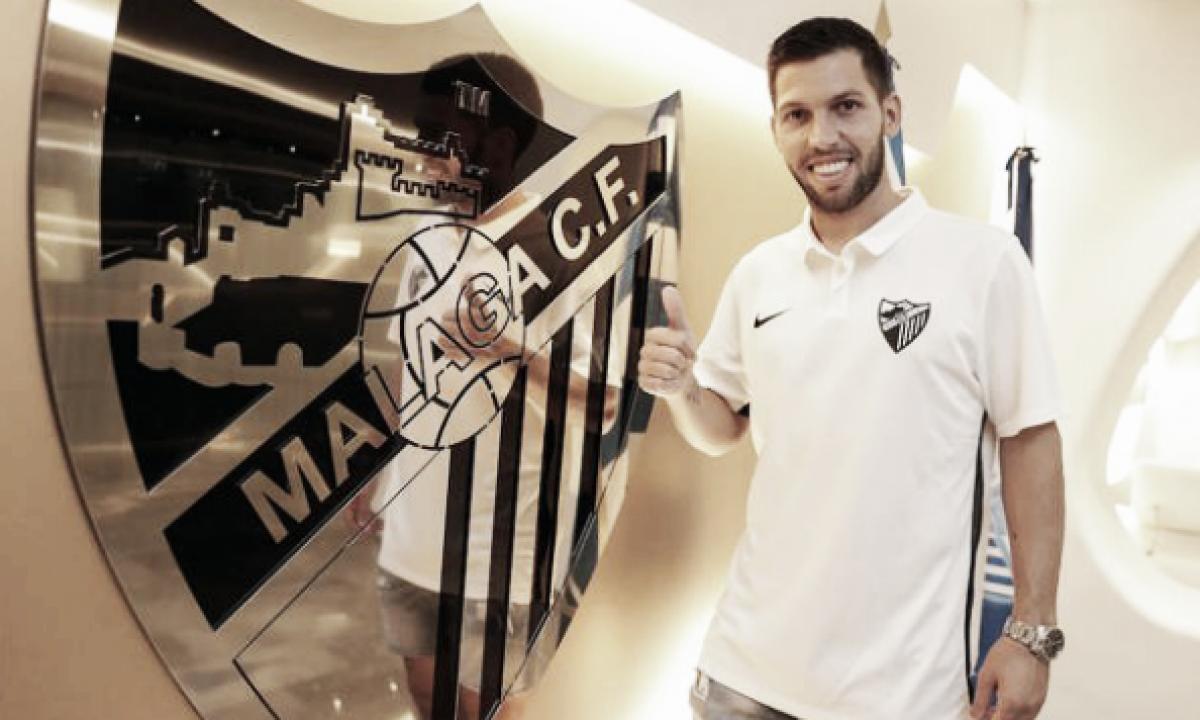 Dani Pacheco, nuevo jugador del Málaga