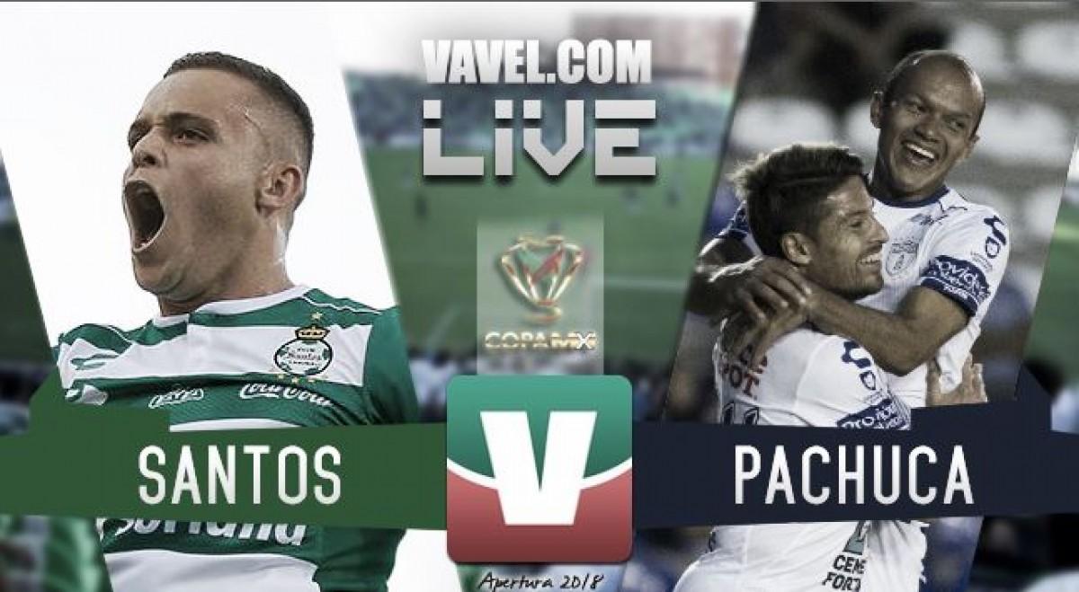 Santos vs Pachuca en vivo online en Copa MX 2018 (0-0)