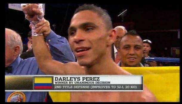 Maicelo no pudo ante el colombiano Darleys Pérez