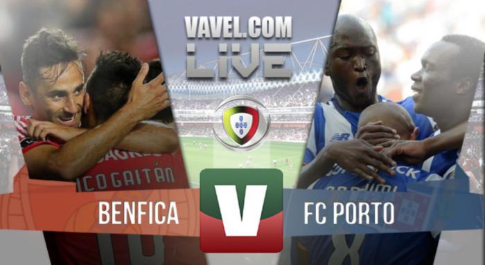 Resultado Benfica 1-2 FC Porto na Primeira Liga 2016
