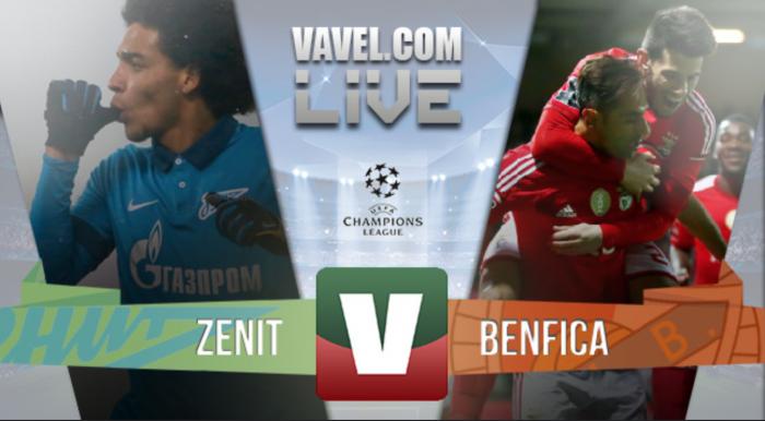 Benfica está apurado para os quartos de final da Liga dos Campeões(1-2)
