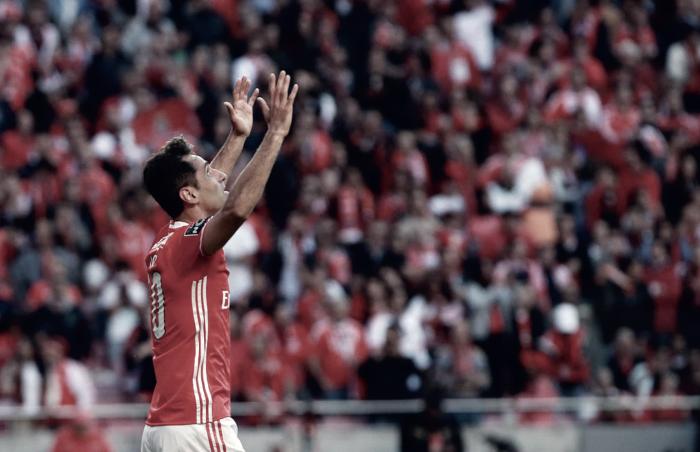 Benfica: Jonas, o atirador implacável