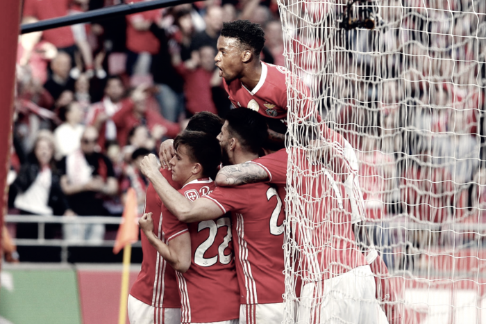 Benfica a um voo do Histórico Tetra