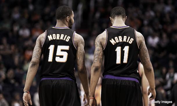 Los hermanos Morris renuevan con Phoenix y los Suns se aseguran su doble pareja