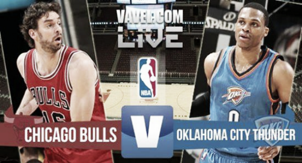 Chicago Bulls vs Oklahoma City Thunder, NBA en vivo y en directo online