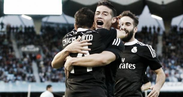 Sempre Hernandez, sempre il Chicharito, il Real vince e insegue il Barcellona