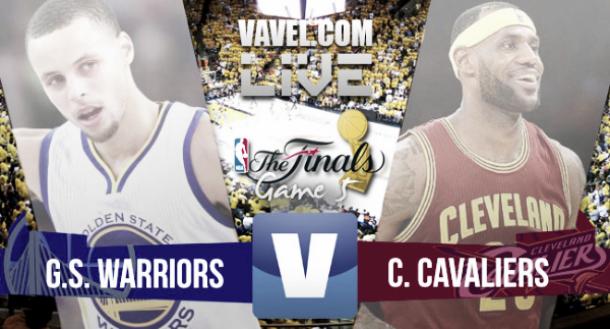 Resultado Golden State Warriors - Cleveland Cavaliers en las Finales NBA  2015 (104-91 f019c5c5163