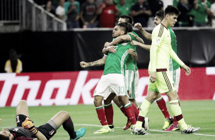 Historial de México en cuartos de final de la Copa América