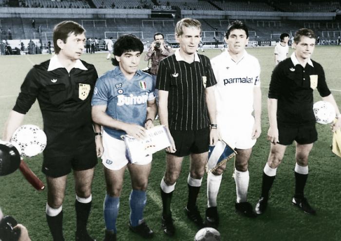 El Madrid ya eliminó al Nápoles de Maradona en la Copa de Europa de 1987