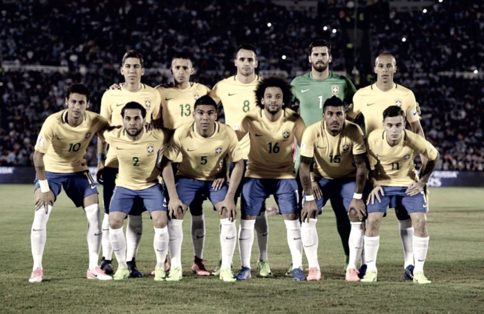 Casemiro y Marcelo presentes en el triunfo de Brasil ante Uruguay