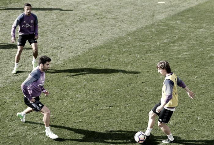 El Real Madrid ya se entrena con Modric y Bale