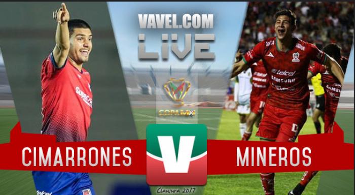 Resultado y goles del partido Cimarrones vs Mineros en Liguilla Ascenso MX (2-1)