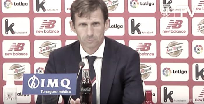 """José Ángel Ziganda: """"Nos ha afectado demasiado el error del penalti"""""""