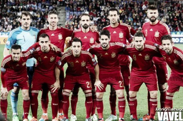 Ya ha salido la lista de convocados de la Roja