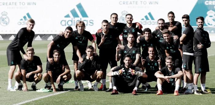 El Real Madrid continúa preparándose para luchar contra el Espanyol