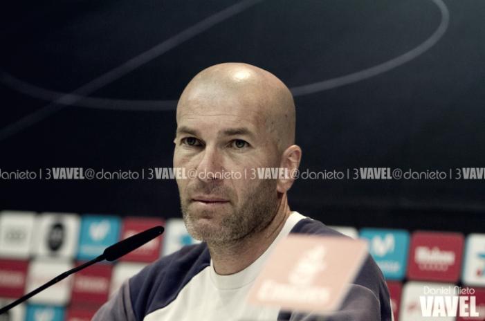 Zidane: ''Vamos a tener muchas oportunidades de ganar el partido. Es lo que queremos''