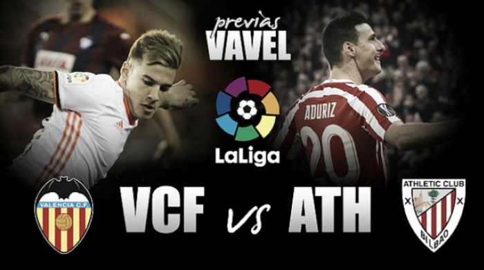 Previa Valencia CF - Athletic Club: mantener el nivel