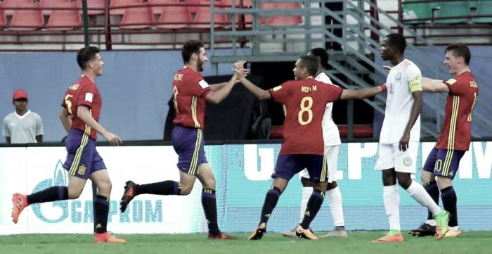 La Rojita se come a Níger en el Mundial Sub-17