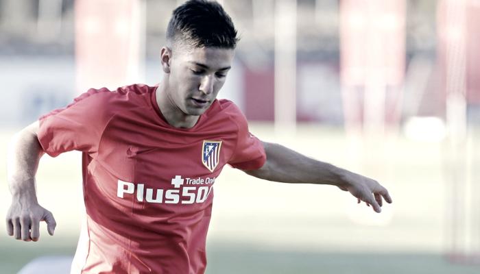 """Luciano Vietto: """"Hoy, gracias a Dios, estoy en el Atlético de Madrid"""""""