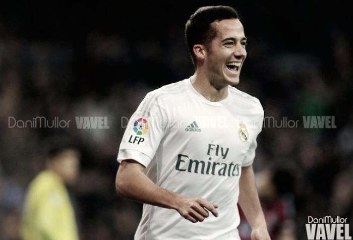 Lucas Vázquez firma el gol más rápido del Real Madrid