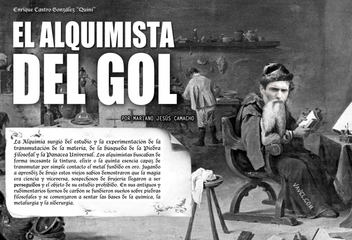 Quini, el alquimista del gol