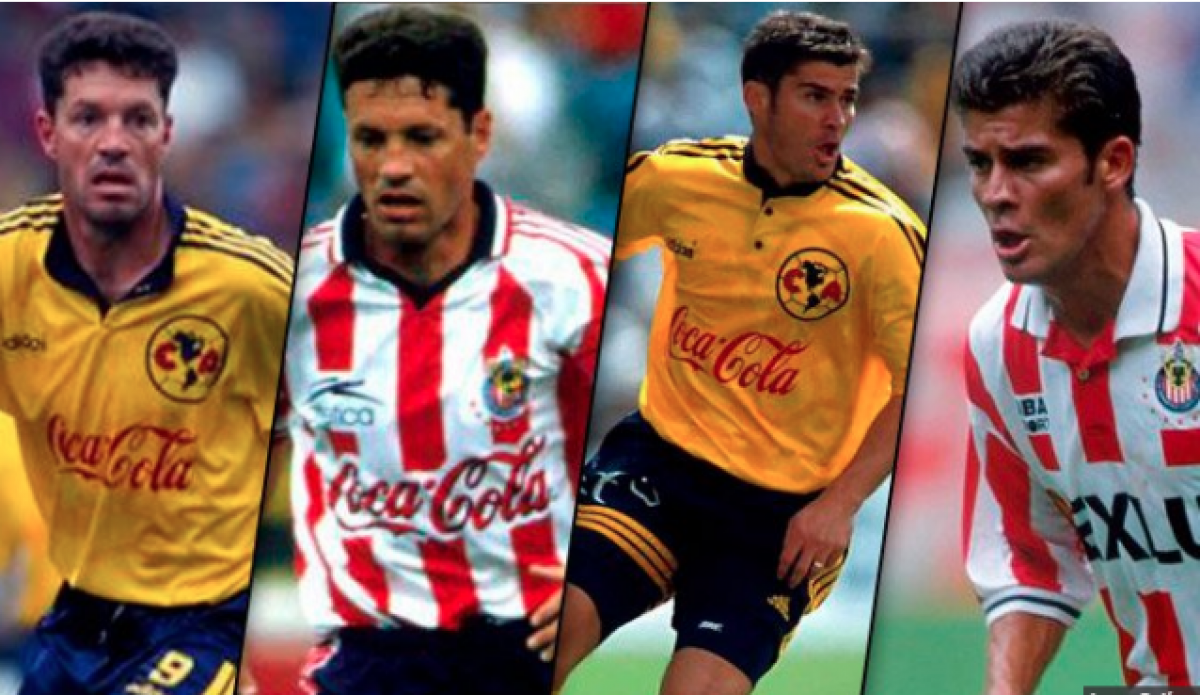 Futbolistas que jugaron a rayas y plumas
