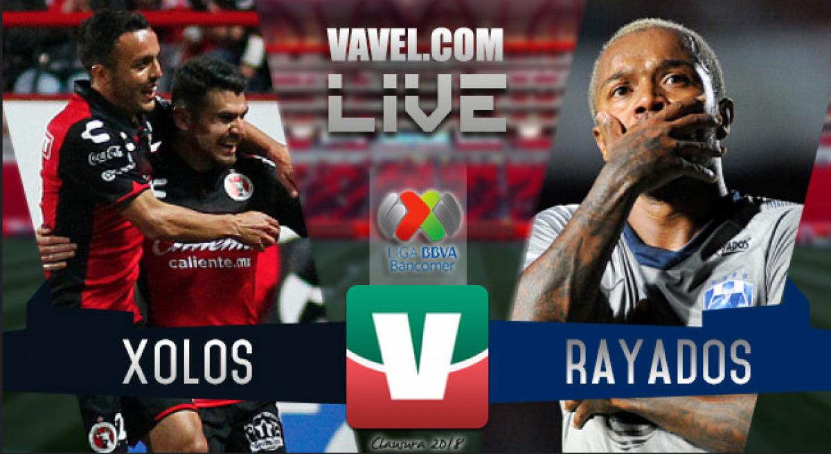 Rayados Monterrey vs Xolos Tijuana en vivo online en Liga MX (1-2) Global (2-3)