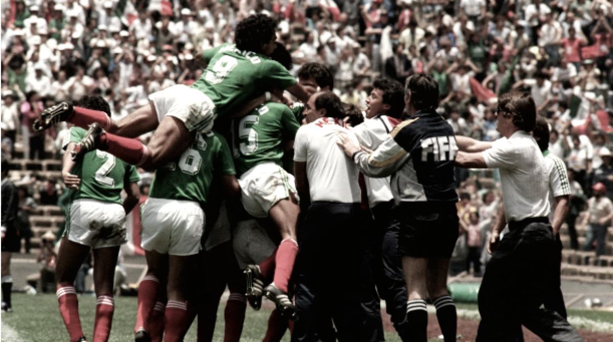 México en mundiales | México 1986 | La localía pesó