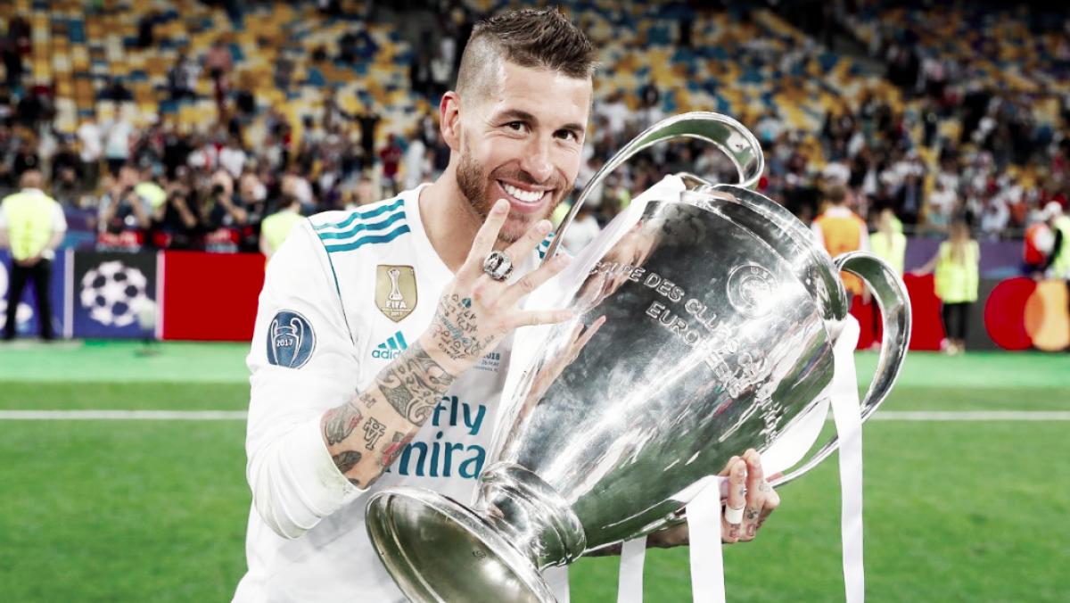 Sergio Ramos, el 'capitán' de la Champions