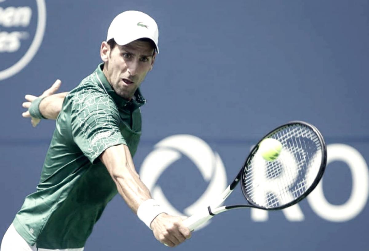 Djokovic trabajó más de la cuenta pero está en segunda ronda