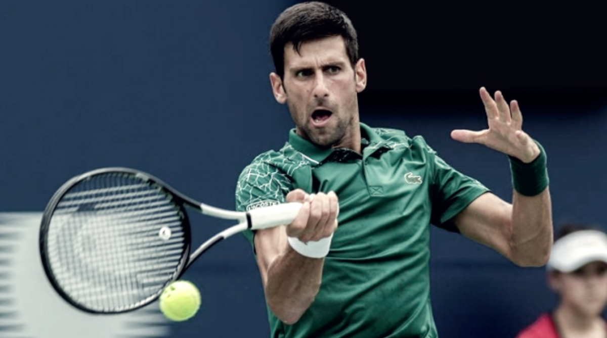 Djokovic no decepcionó en su debut en Cincinnati