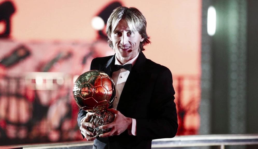 Luka Modric, ganador del Balón de Oro 2018 tras la hegemonía de Cristiano y Messi