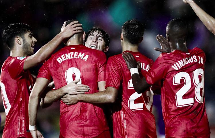 Resumen Real Madrid 6-1 Melilla en Copa del Rey 2018