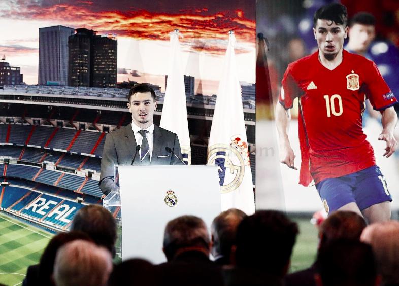 Brahim Díaz, presentado como nuevo jugador del Real Madrid