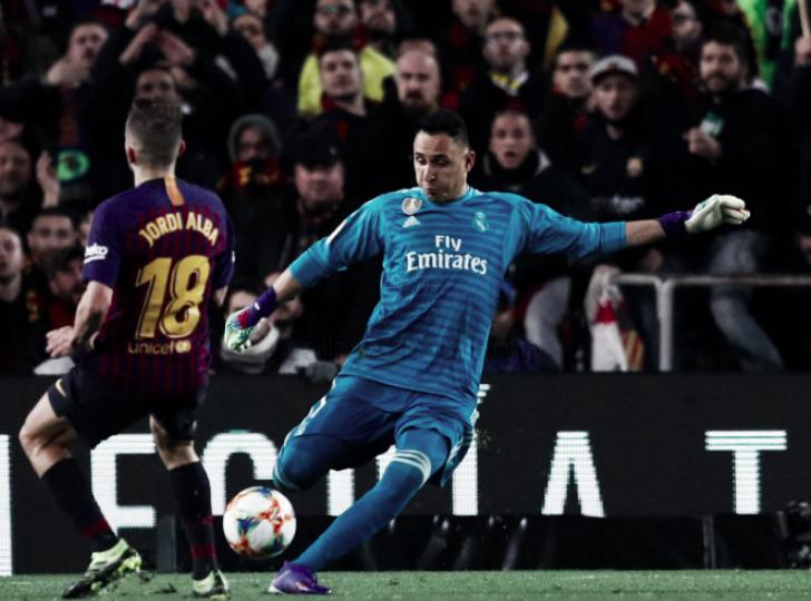"""Keylor Navas: """"El resultado ante el Barcelona nos sabe a poco"""""""