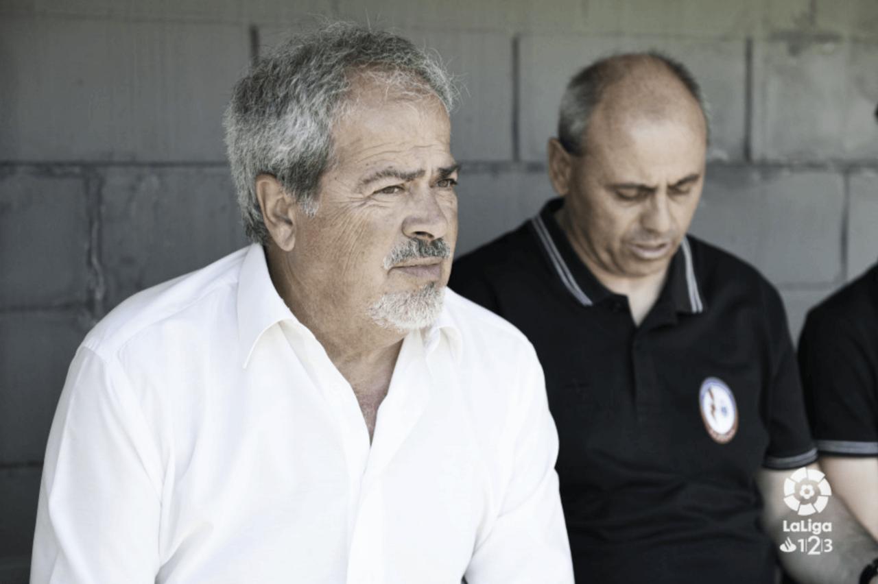 """Antonio Iriondo: """"Sigo pensando que el Rayo Majadahonda se mantendrá, tenemos que ir a ganar a Oviedo"""""""