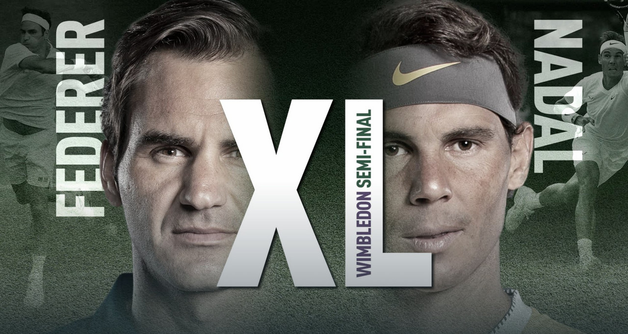 Previa Roger Federer - Rafael Nadal: capítulo 40, allá van otra vez