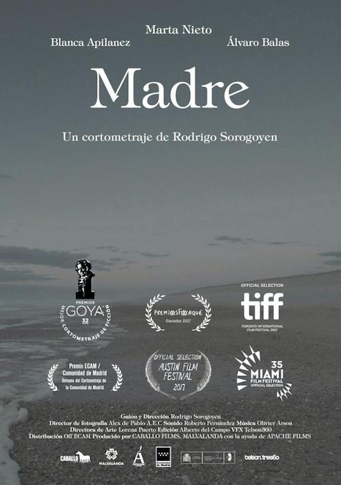 Marta Nieto, premiada en el Festival de Venecia por MADRE