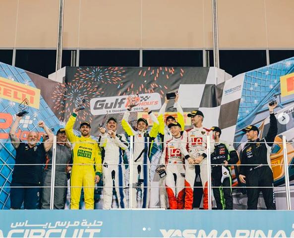 Valentino Rossi vuelve al podio en las 12 Horas del Golfo