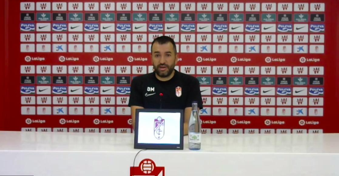 """Diego Martínez: """"El de Mallorca va a ser uno de los partidos más exigentes de la temporada"""""""