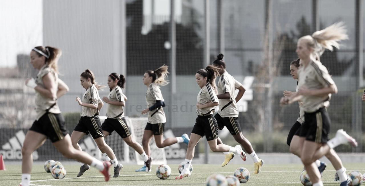 El Real Madrid Femenino comienza a rodar