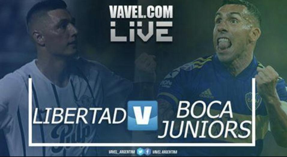 Resultado Libertad vs Boca Copa Libertadores (0-2)